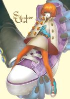 Sneaker Girl by yukkeKY