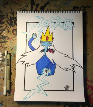 The Ice King by ZERO1ER