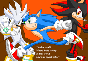Sonic the Hedgehog by Metal-Kitty
