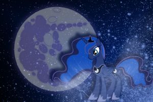 Luna wallpaper art by bdiddy20128