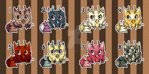 Dewlettes: SOLD by Kuro-Creations