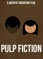 Pulp Fiction - Poster by joaood