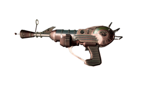 ray gun render by d7mey
