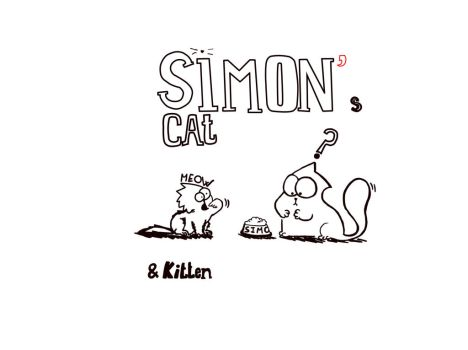 Simon's cat and Kitten by pasca93