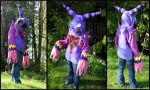 Gargoyle Heartless Hoodie - Turn-around by apox0n