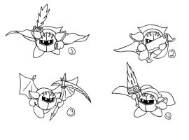 CONCEPT ART: KOoD - Meta Knight's Abilities by ChronoWeapon