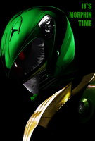 Green Ranger Movie Poster by Tasunara