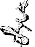 ::Spidey_Mang_Inks:: by TehBeardedOne