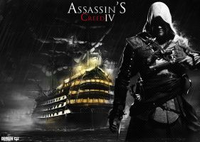 Assassin's Creed lV by DemircanGraphic