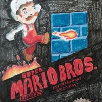 Super Mario Bros by stinson627