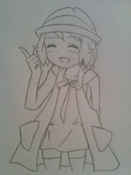 Serena 2.0 Sketch by The-P3nguin