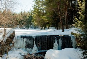 icy_waterfall by Asheria
