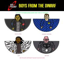 Red Dwarf - Boys from the Dwarf by mikedaws