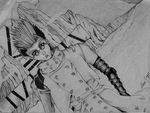 Vash the Stampede Sketch by TheTeenWitch
