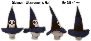 Wizardmon's Hat by LiliNeko