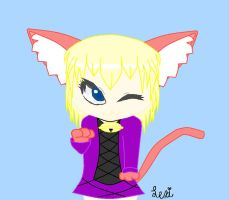 Me as a Catgirl by catz537