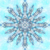 Fractaled Thoughts: The Fifth Snowfall by Romnil
