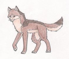 Sedillio wolf contest entry: Nazoi by AshesAndWings