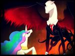 All hail the Slender Mane by Die-Laughing