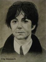 Paul McCartney by IVanyLovesArtI