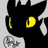 Toothless by haydee