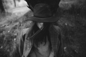 girl in the hat by eugene-kukulka