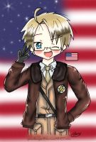 [APH] America: I'm Your Hero! by epicdango