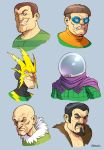The Sinister Six by D-MAC