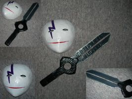 Heis Mask and Weapon by endless--rain