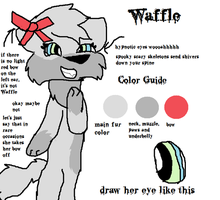 (new) (wet and ready 4 death) waffle ref sheet by mynameiswaifu