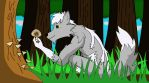 Let's go look for Shrooms! by saddened-Lines