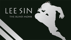 The Blind Monk Silhouette - Green - 1920x1080 by urban287