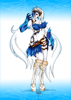 Commission:  Dark_Iced_Angel one by blackreign