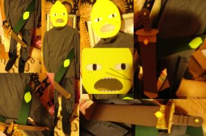 The Earl of Lemongrab Cosplay by TheEarlofLemongrab