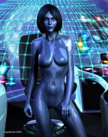 Cortana by cyanthree