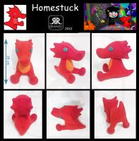 Scalemate plushie by Ryoko-demon