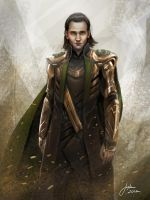 The Avengers: Loki by JophielS