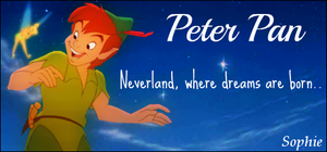 Peter Pan Signature by SophieTheVampire