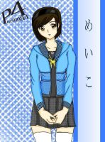 Me in Persona 4 by sayaka-miamoto