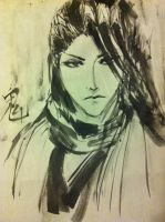 byakuya - chinese ink by sharlicious