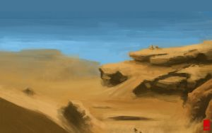 Desert ruins by St-Pete