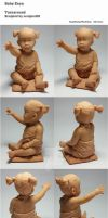 Baby Enya by sculptor101