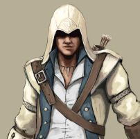 Connor Kenway by FonteArt