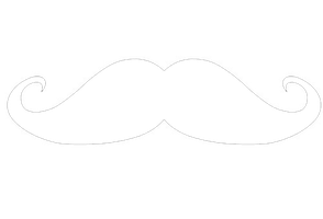 Moustache PNG by likeabeliectioner
