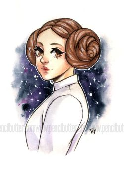 leia by pencil-butter