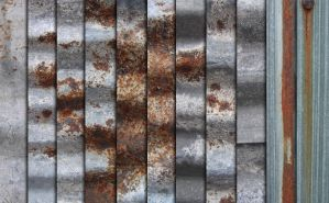 Rusty Tin Texture Pack by sdwhaven
