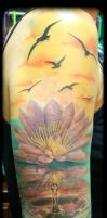 Lotus waterdrop next session by inkjunky5