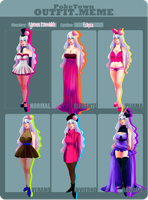 PT: Outfit Meme [Yvonne] by Dandrade