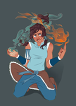 Fan Art - Korra by The-Troglodyte