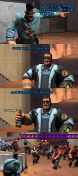 SFM - Saturday is... by Stormbadger